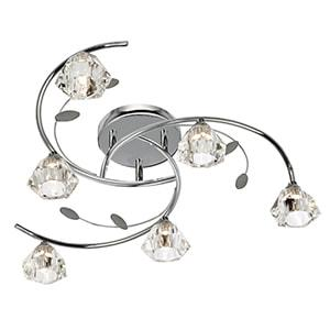 SIERRA CHROME WALL LIGHT 2632-2CC