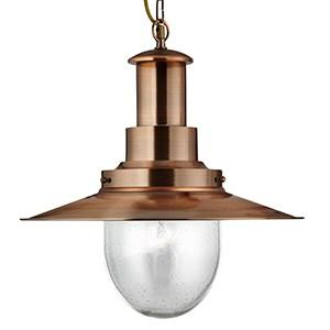 SEARCHLIGHT FISHERMAN XL 1-LIGHT Large Pendant  5301CO