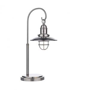 TERRACE TABLE LAMP ANTIQUE CHROME