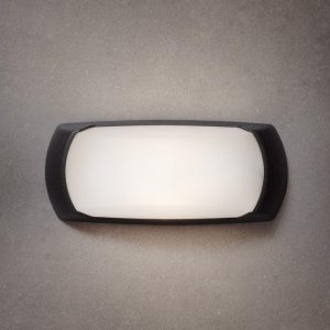 BULKHEAD LED BLACK RESIN