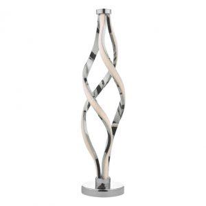 JIVE TABLE LAMP ALUMINIUM & WHITE LED
