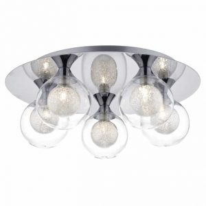 ZEKE 5 LIGHT FLUSH POLISHED CHROME