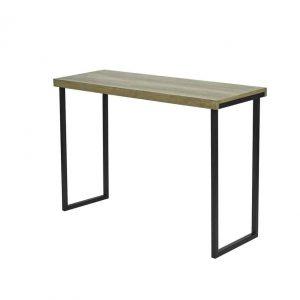 ASTON RECTANGULAR CONSOLE TABLE OAK STYLE VENEER