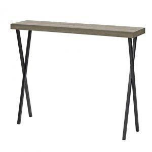 DATA CONSOLE TABLE OAK STYLE VENEER