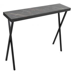DATA CONSOLE TABLE DARK MARBLE