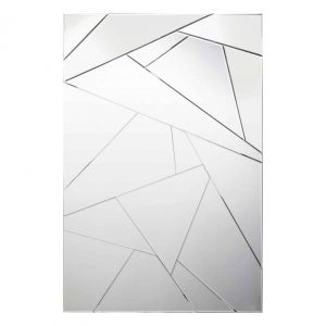 LECCE RECTANGLE SHATTER MIRROR 120 X 80CM £135