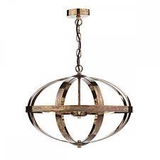 Symbol 3 Light Pendant Petrol Copper
