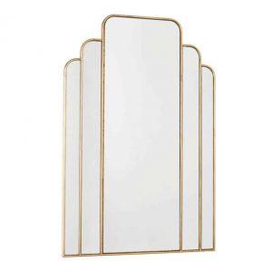 Skovgaard Rectangle Mirror With Gold Detail