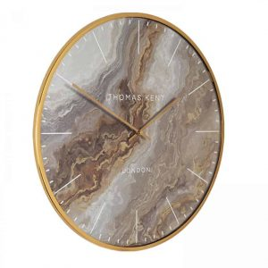 26″ Oyster Grand Clock Bronze