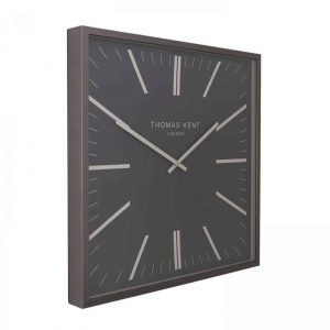 24″ Garrick Wall Clock Graphite