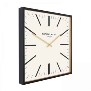 24″ Garrick Wall Clock White