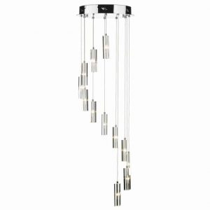 GALILEO 12LT CLUSTER LED PENDANT POLISHED CHROME
