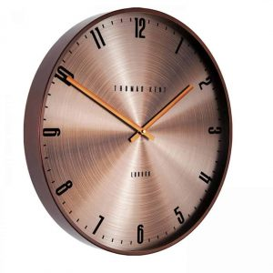 21″ Jewel Wall Clock Amber