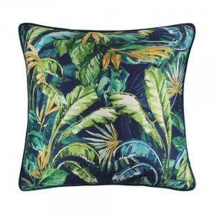 Scatter Box Paradisa 58x58cm Cushion, Green/Blue