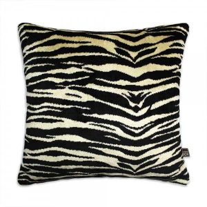 Scatter Box Zizi 43x43cm Cushion, Black/Gold