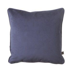 Scatter Box Velour 43x43cm Cushion, Navy