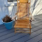 Bamboo Deck Chairs/Table Set Was £330 Now £299