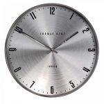 21″ Jewel Wall Clock Platinum