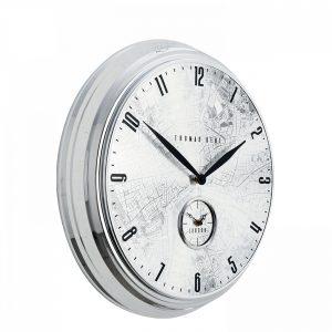 "19"" Greenwich Timekeeper Wall Clock Londoner"