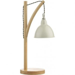 Blyton 1 Light Table Lamp complete with Painted Shade