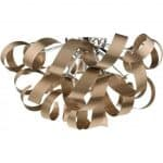 Rawley 5 Light Flush Brushed Copper