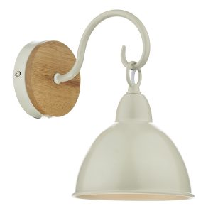 Blyton 1 Light Wall Bracket complete with Painted Shade