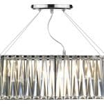 Cecilia 3 Light G9 Oval Linear Pendant Bar