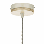 Blyton 1 Light Pendant complete with Painted Shade